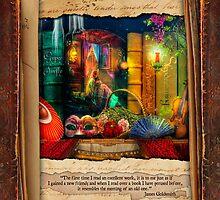 The Curious Library Calendar - March by Aimee Stewart
