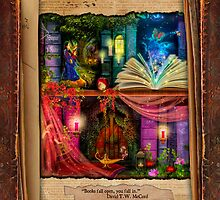 The Curious Library Calendar - May by Aimee Stewart