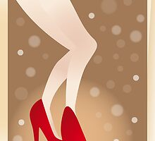 Les jambes - the legs (Poster) by schtroumpf2510