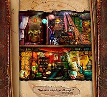 The Curious Library Calendar - September by Aimee Stewart