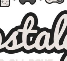 Nostalgia - The Good Ol' Days Sticker