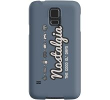 Nostalgia - The Good Ol' Days Samsung Galaxy Case/Skin