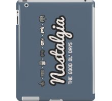 Nostalgia - The Good Ol' Days iPad Case/Skin