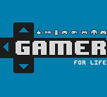Gamer For Life! by thehookshot
