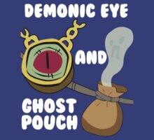 Demonic eye and Ghost pouch by Void-Manifest