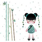 Japanese Girl by estherilustra