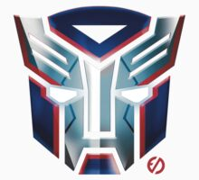 Autobot Iron Patriot Symbol - Grey  by EdUnderground