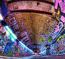 Leake Street, Waterloo, London by Guy Carpenter
