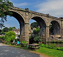KNARESBOROUGH BRIDGE by Raoul Madden