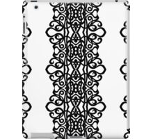 Lace Embroidery Design iPad Case/Skin