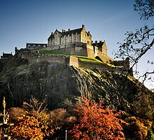 Edinburgh Castle by tmtht