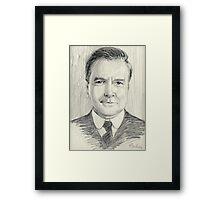 John Bates of Downton Abbey Framed Print