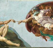 Creation of Adam (High Res) by Walter Weinberg