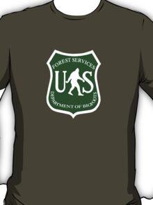 US Bigfoot Service  T-Shirt