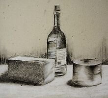 Charcoal Still Life by sgrixti