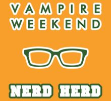 Vampire Weekend Nerd Herd  by exeters