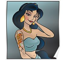 Disney Princesses with attitude - Jasmine Poster