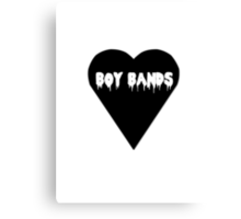 Boy Band Canvas Print