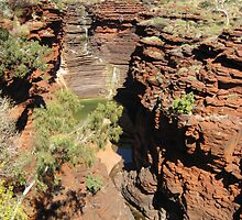 Joffre Gorge  Pilbara  - taken by Sue by PeterJF