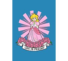 Life Is Peachy Photographic Print