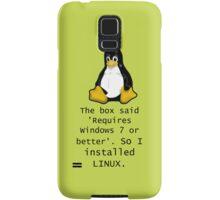 Linux Samsung Galaxy Case/Skin