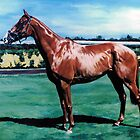Doriemus - Melbourne Cup Winning Thoroughbred by Nina Smart