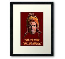 The Hero Of Canton (Firefly) Framed Print