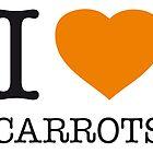 I ? CARROTS by eyesblau