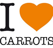 I ♥ CARROTS by eyesblau