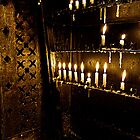 Votive candles by collpics