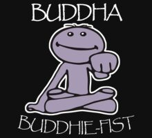 Buddha [Twitch.tv] - 'Pinky's Buddhie-Fist' (Inverted) by PaperGoblin