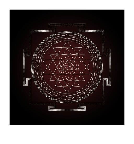 Sri Chakra Australis by Kim  Lynch