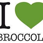 I ? BROCCOLI by eyesblau