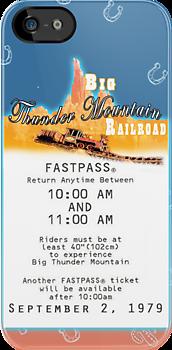 Thunder Mountain- Fastpass (#2) by Margybear