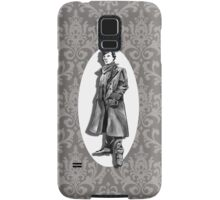 A Study In Grey Samsung Galaxy Case/Skin