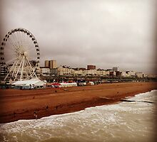 Brighton Beach by jeremyab