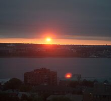 Halifax Sunrise by Gary Chapple