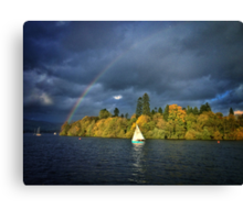 Bright Rainbow Canvas Print