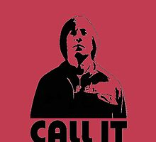 CALL IT red iphone cover - Anton Chigurh by CaptainTrips