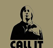 CALL IT iphone cover - Anton Chigurh by CaptainTrips