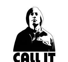 CALL IT white iphone cover - Anton Chigurh by CaptainTrips