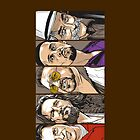 The Big Lebowski Characters - Comic Style - Phone Case by Cimoe