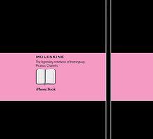 Moleskine Pink - Galaxy by Balugix