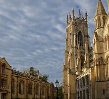Aside of York Minster by Mark Baldwyn