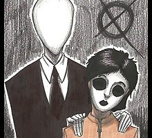 SLENDERMAN IPad Cases by FelixxGhost