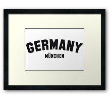 GERMANY MÜNCHEN Framed Print