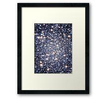 Star Pattern  | The Universe by Sir Douglas Fresh Framed Print
