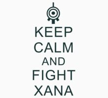 Keep calm and fight XANA by Nagareboshi