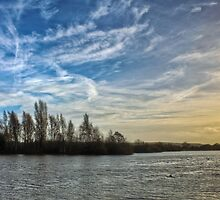 Sunset over a Nature Reserve by pixog