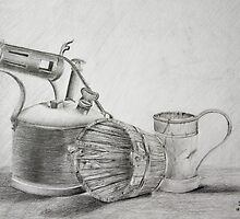Still Life In Pencil by sgrixti